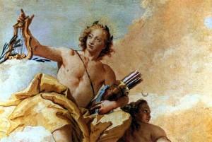Аполлон і Діана (Джованні Баттіста Тьєпо́ло -  1757р.)