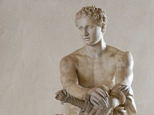Так званий, Арес Людовізі, Вілла Людовізі, Рим, пентелійський мармур — римська копія грецького оригіналу