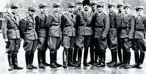 Вояки Карпатської Січі перед боєм на Красному полі