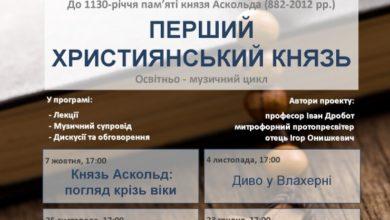Лекція «Від Аскольда до Володимира»
