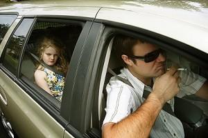Авто, діти і цигарки