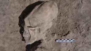 Усього вчені знайшли 25 людських скелетів, причому у 13 з них черепа мали сліди навмисної деформації.
