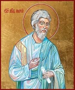 Святий Апостол Андрій Первозванний – перший архиєпископ Костянтинопольський, Патріарх Вселенський і апостол Руський