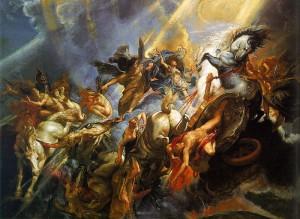 Рубенс. Падіння Фаетона, 1604—1605