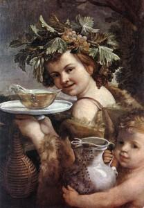 Підліток Діоніс (Гвідо Рені, 1615-20 рр.. Флоренція, галерея Палатина , палац Пітті)