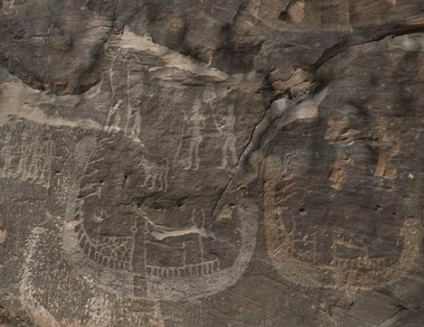 Американські дослідники виявили в Єгипті зображення фараона Нармера