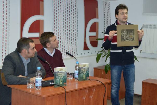 На світлині зліва направо: Іван Патриляк, Олег Стецишин, Ярослав Тинченко