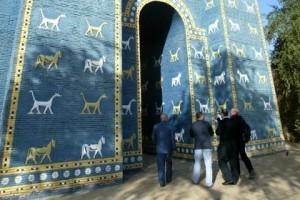 Реконструйовані Ворота Іштар в Іраку