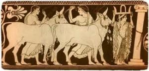 Стайні царя Авгія (шостий подвиг Геракла)