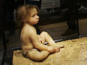 Неандертальська дитина (реконструкція)