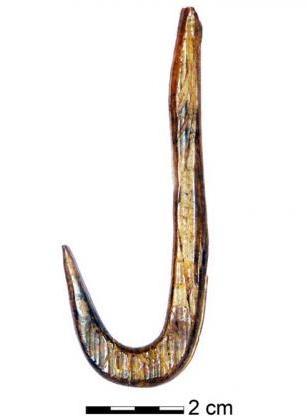 Знайдено найдавніші в Європі гачки