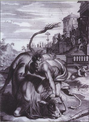 Крітський бик (сьомий подвиг Геракла)