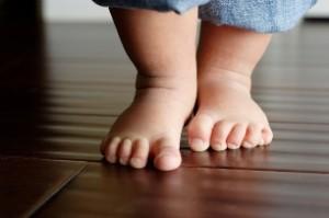 Перші кроки впливають на майбутнє дитини