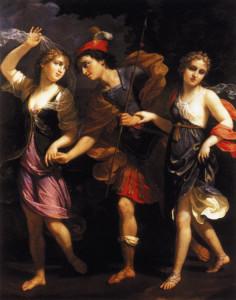 Тесей, Аріадна і Федра (Женнарі, 1702 рік)