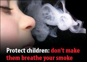 Через пасивне куріння діти стають злими