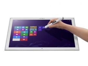 Panasonic представила 20-дюймовий Windows-планшет