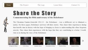 80 історій від свідків геноциду — проект до 80-х роковин Голодомору 1932—1933 років в Україні