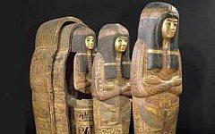 Навіщо мумії вісім саркофагів?