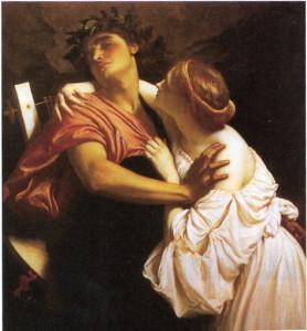Орфей і Еврідіка (1864, автор: Фредерік Лейтон)