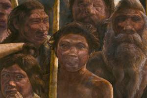 Реконструкція вигляду людей, чиї останки знаходять в Сіно-де-лос-Уесос