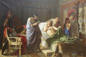 Генріх Семирадський, «Довіра Александра Македонського до лікаря Філіпу », 1870