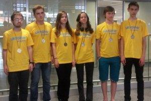 Українські школярі взяли призи ряду міжнародних олімпіад