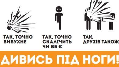 Photo of Інформаційні буклети «антимінної програми»