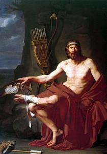 Філоктет- син Пеанта й Демонасси — один із грецьких героїв Троянської війни; славетний стрілець з лука, приятель Геракла