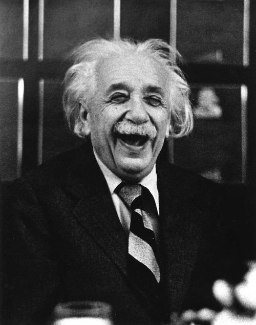 Альберт Ейнштейн на Прінстонському обіді, 1953