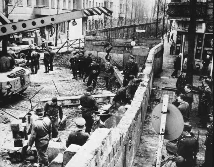 Берлінська стіна,13 серпня 1961