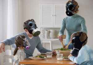 Забруднене повітря - Шкільне життя