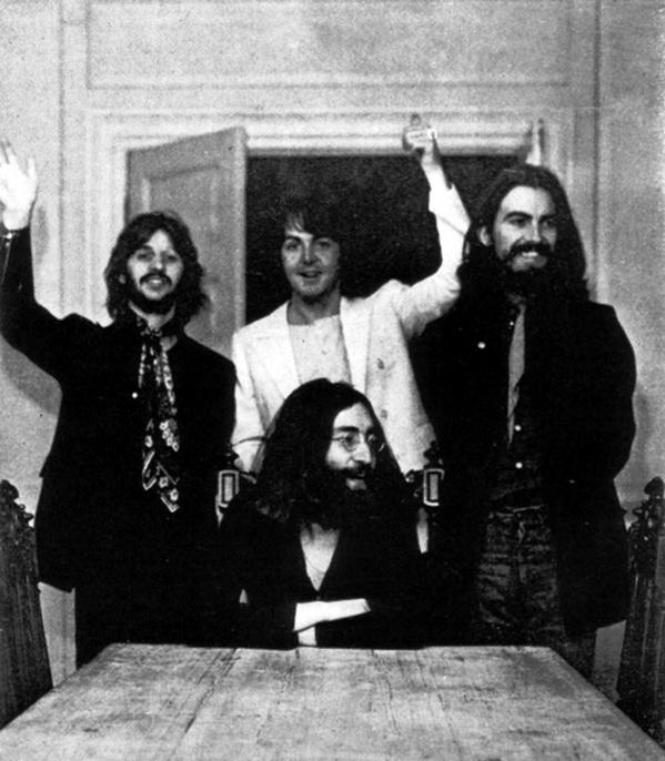 Останнє фото всіх чотирьох Beatles разом, 22 серпня 1969