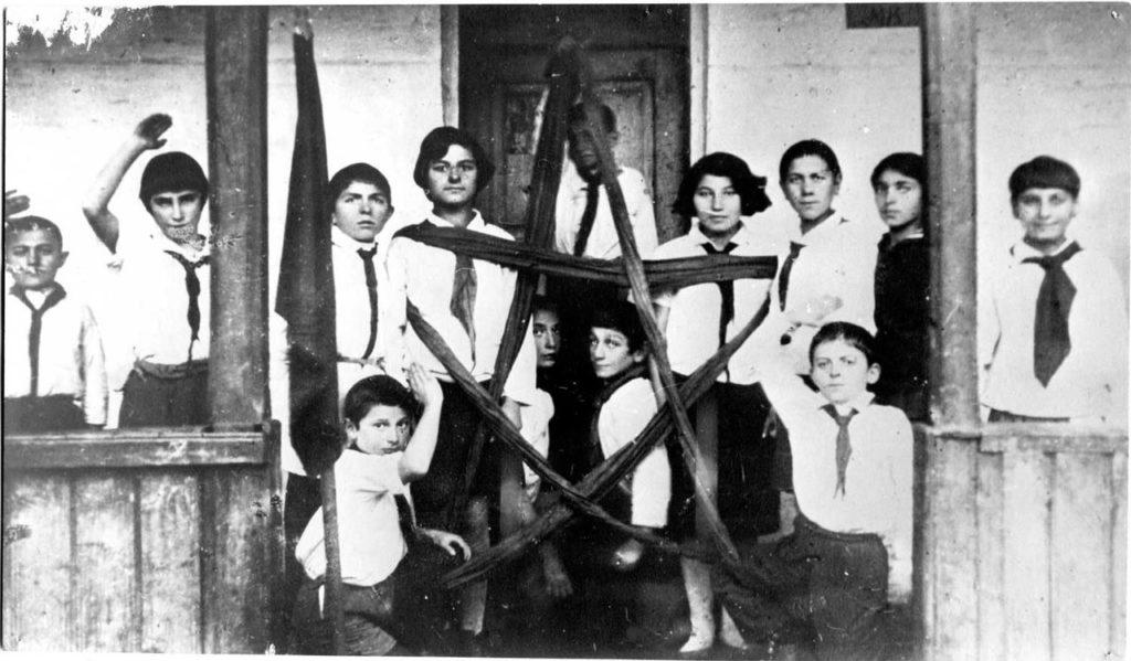 Піонерський загін вірменського села на Ставропіллі, 1924