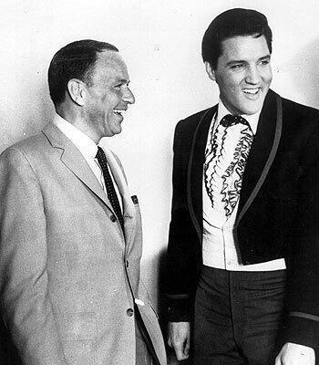 Френк Сінатра і Елвіс Преслі, 1965
