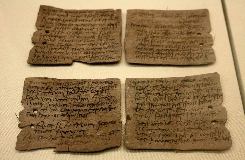 Діловий лист Октавіуса, оптового поставщика товарів для римської армії.