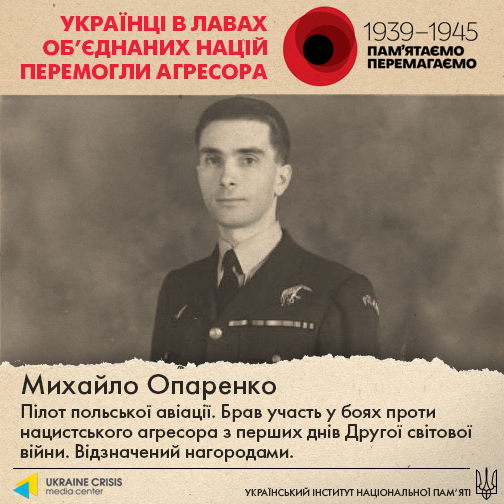 Михайло Опаренко - Шкільне життя
