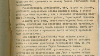 """Photo of Державний архів Росії опублікував документ про так званий подвиг """"героїв-панфіловців"""""""