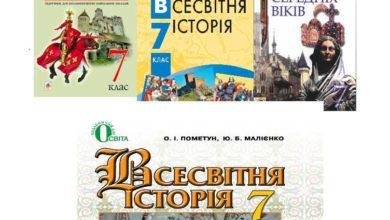 7 клас. Всесвітня історія - Шкільне життя