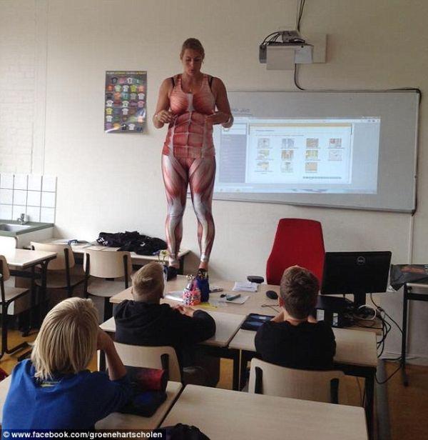 Уроки по анатомии с русской учительницей 22 фотография