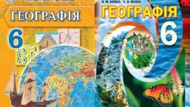6 клас. Географія - Шкільне життя