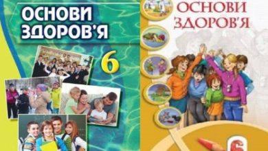 6 клас. Основи здоров'я - Шкільне життя