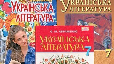 7 клас. Українська література - Шкільне життя