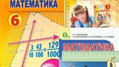 6 клас. Математика - Шкільне життя