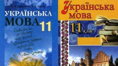 11 клас. Українська мова - Шкільне життя