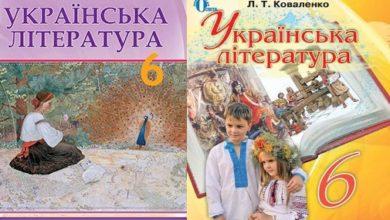 6 клас. Українська література - Шкільне життя